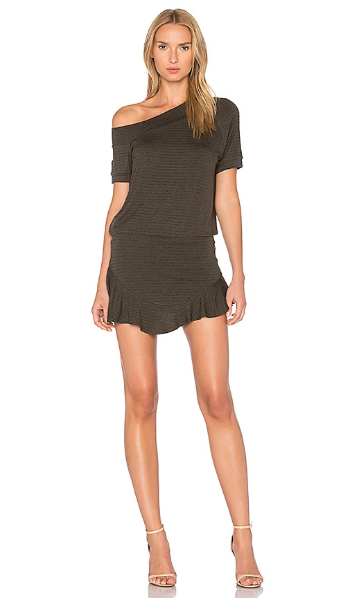 Riller & Fount Candy Romper in Army