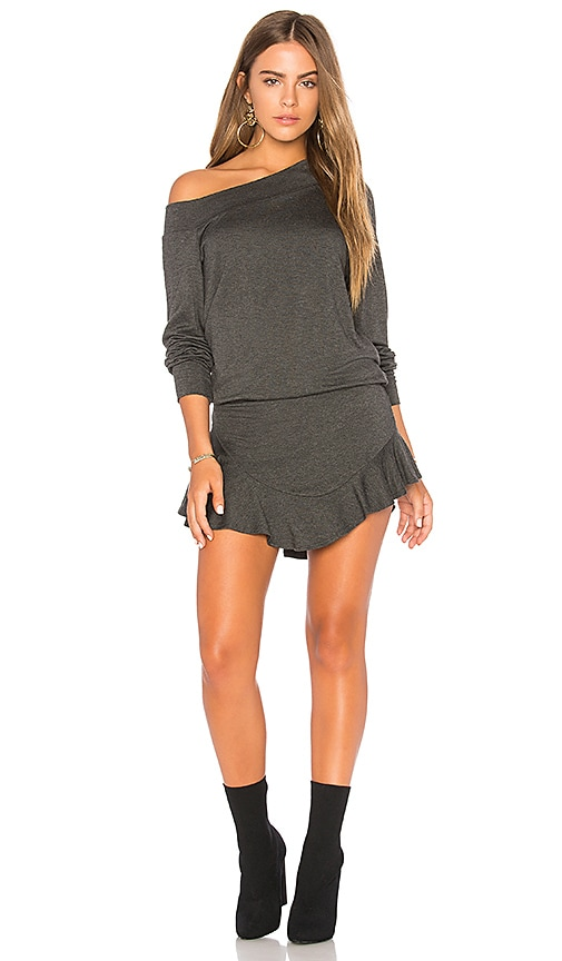 Riller & Fount Paddy Romper in Gray