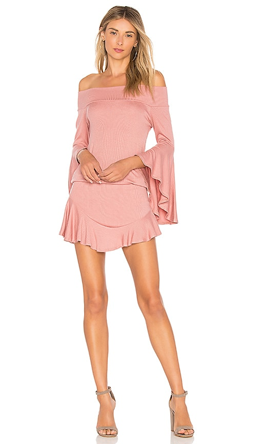Riller & Fount Sukie Romper in Pink