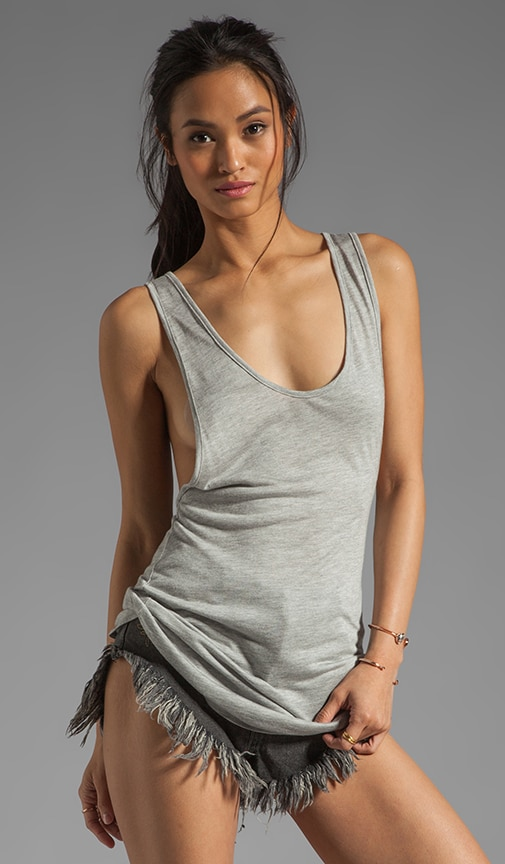 Janice Low Cut Racerback Tank