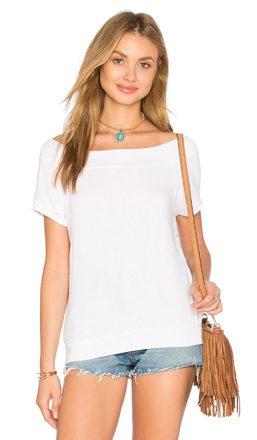 Riller & Fount Bud Top in White