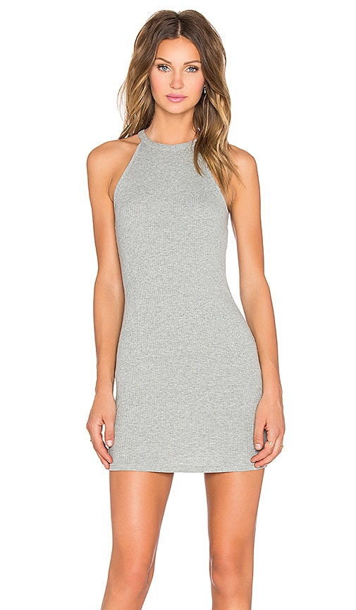 RISE I'm So Ribbed Dress in Grey