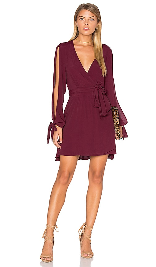 RISE OF DAWN Gifted Dress in Burgundy