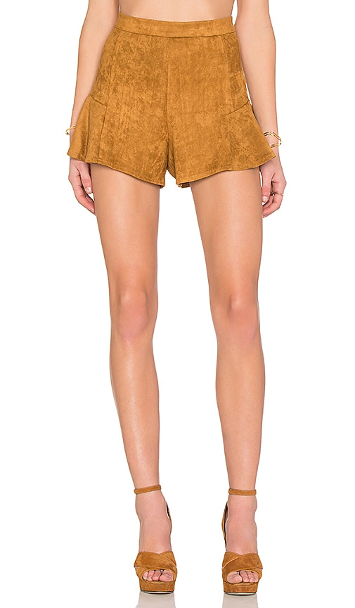 RISE OF DAWN Coastline Shorts in Brown