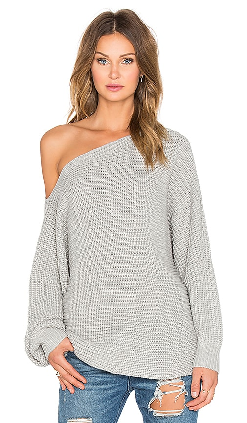 RISE OF DAWN Smooth Talker Sweater in Gray