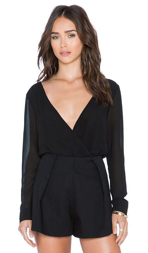 RISE OF DAWN Get Me Out Bodysuit in Black