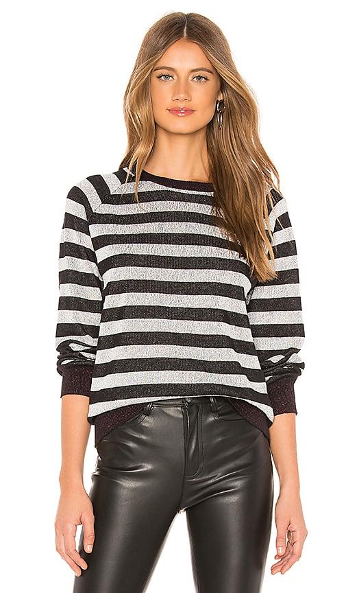 Shiny Stripe Sweater