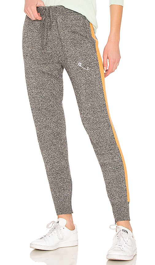 REPLICA LOS ANGELES SAFETY PIN EMBROIDERY SWEATPANT