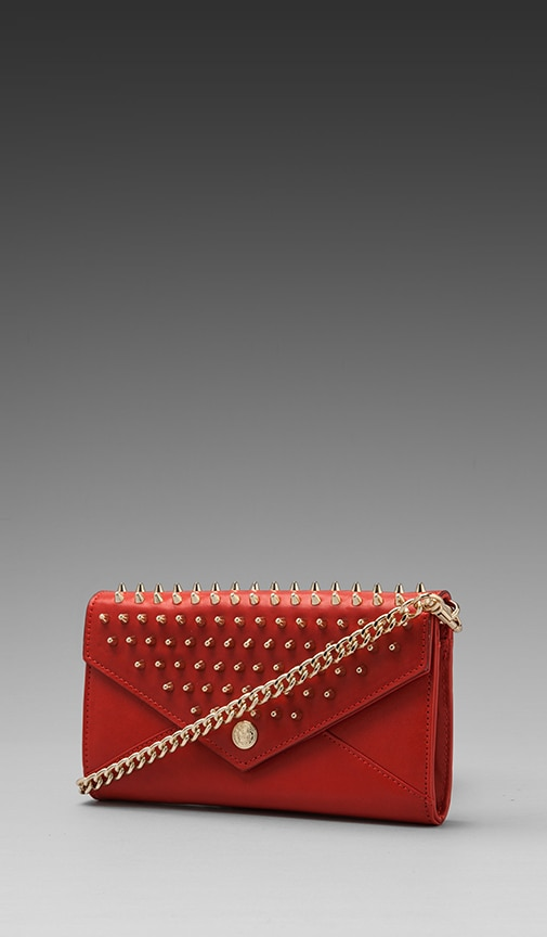 Chain Wallet with Studs