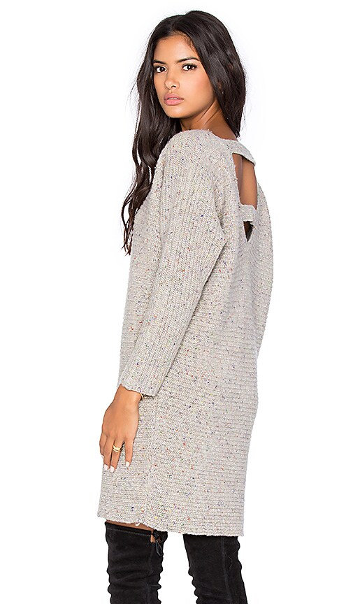 Bass Open Back Sweater Dress