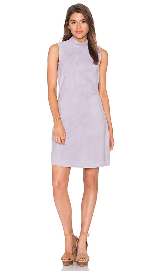 Rebecca Minkoff Cardamon Dress in Grey Plum