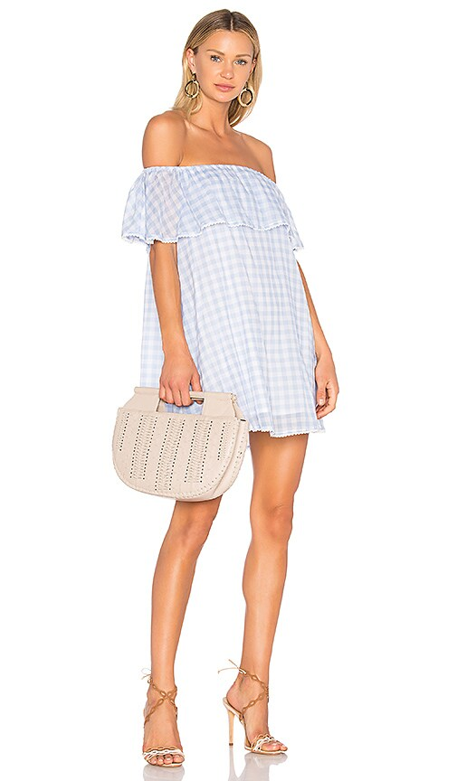 Rebecca Minkoff Dev Dress in Baby Blue