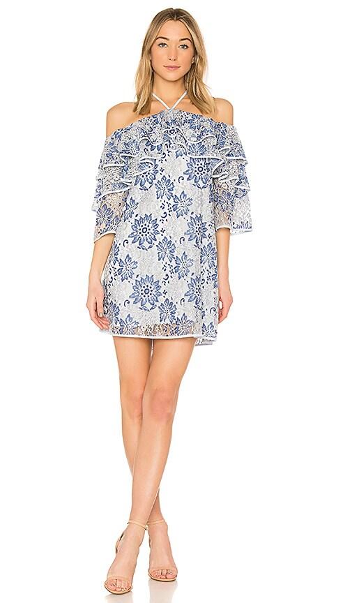 Rebecca Minkoff Dena Dress in Blue