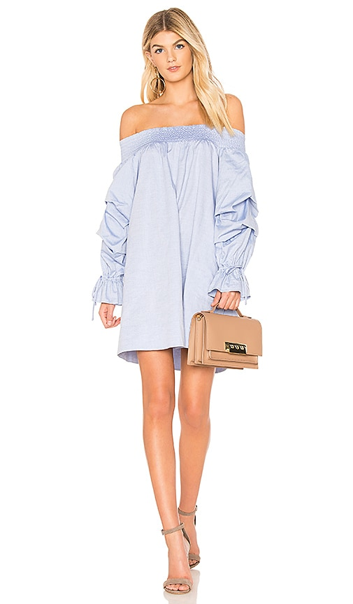Rebecca Minkoff Nicola Dress in Blue