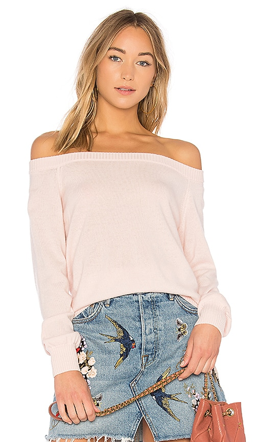 Rebecca Minkoff Shelby Sweater in Pink