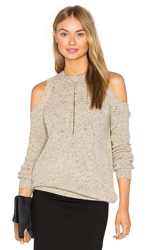 Rebecca Minkoff Chapter Sweater in Tan