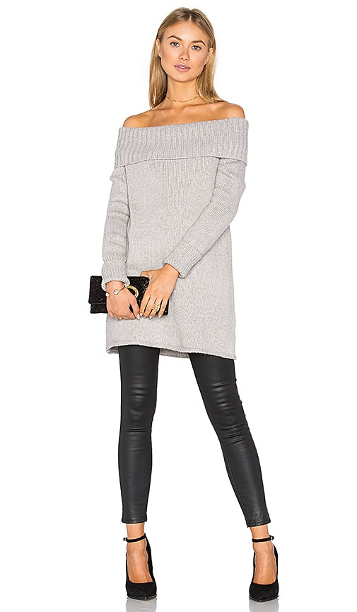 Rebecca Minkoff Erid Sweater in Grey