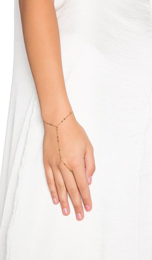 Beaded Hand Chain