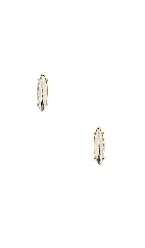 Rebecca Minkoff Sparkler Stud Earring in Metallic Gold