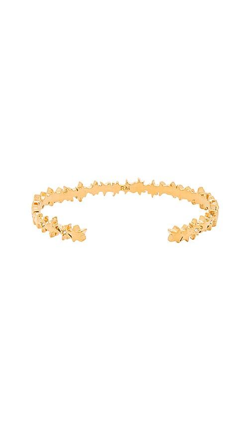 Rebecca Minkoff Stargazing Cuff in Metallic Gold