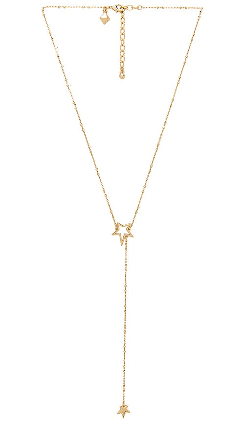 Star Necklace in Metallic Gold Paradigm Wv40AX