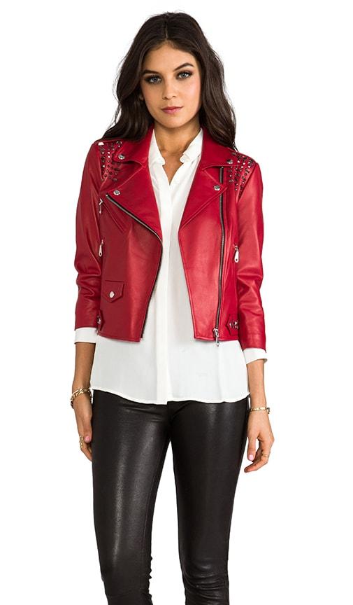 Embellished Wes Moto Jacket