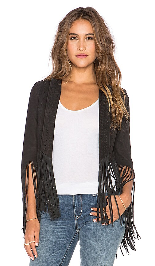 Rebecca Minkoff Crescent Jacket in Black