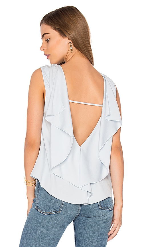 Rebecca Minkoff Jeda Top in Blue