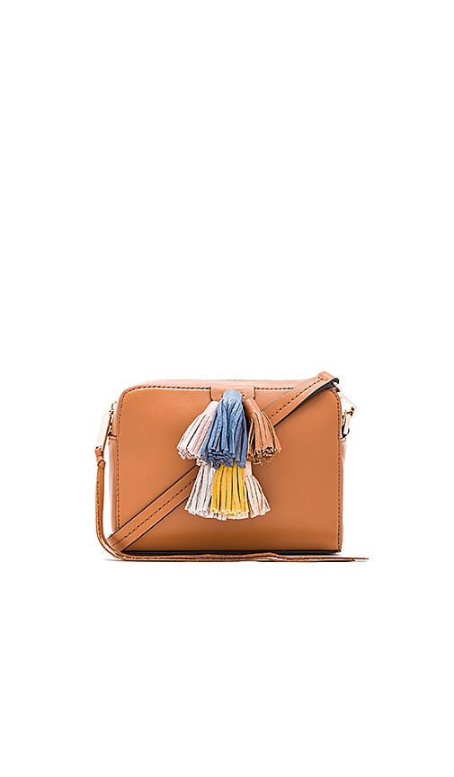 Rebecca Minkoff Mini Sofia Crossbody Bag in Cognac