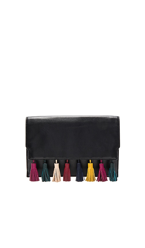 Rebecca Minkoff Sofia Clutch in Black Multi
