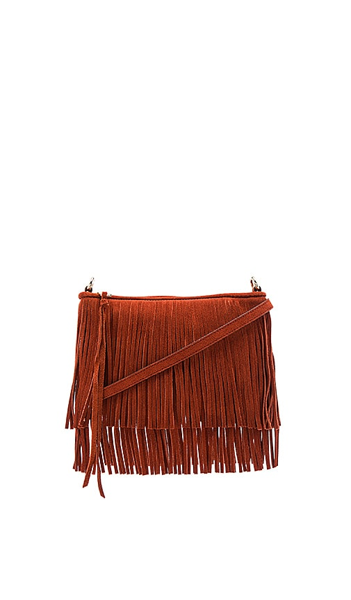 Rebecca Minkoff Finn Crossbody Bag in Rust