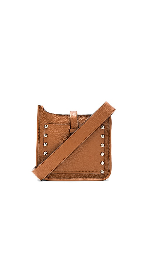 Rebecca Minkoff Mini Unlined Feed Bag in Tan