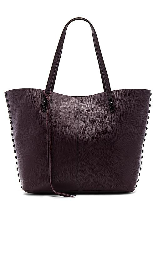 Rebecca Minkoff Medium Unlined Tote Bag in Burgundy