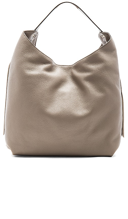 Rebecca Minkoff Bryn Double Zip Hobo Bag in Taupe