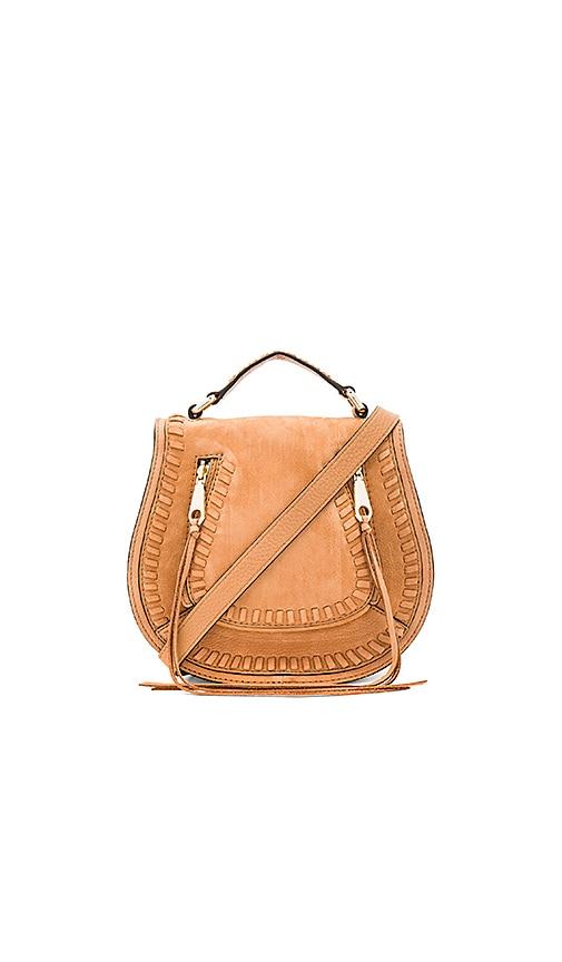 Rebecca Minkoff Small Vanity Saddle Bag in Tan