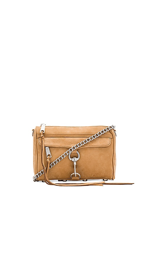 Rebecca Minkoff Mini Mac Bag in Tan