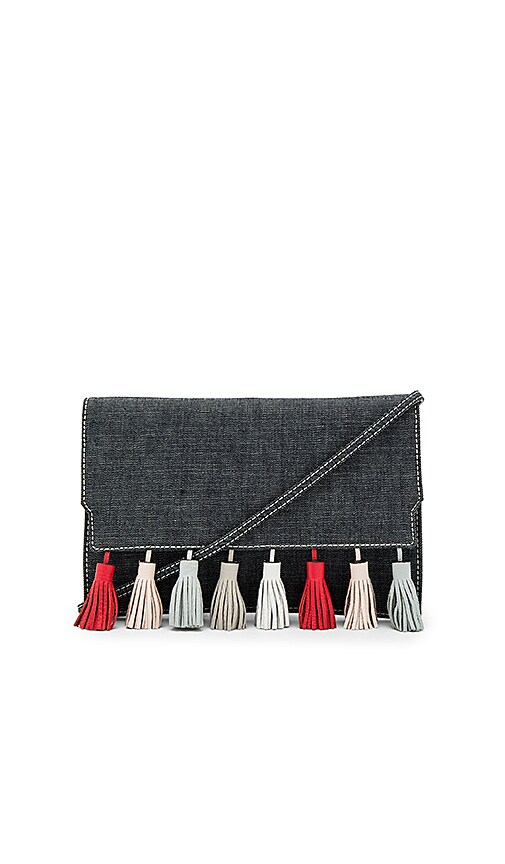 Rebecca Minkoff Sofia Clutch in Blue
