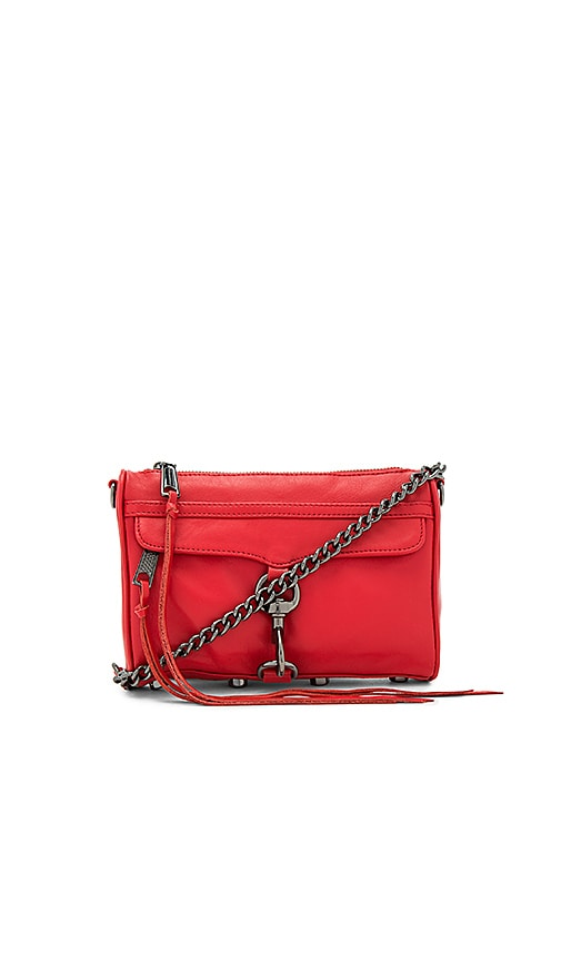 Rebecca Minkoff Mini Mac Bag in Red