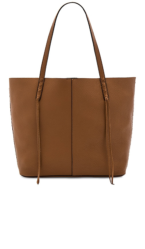 Rebecca Minkoff Medium Unlined Tote in Cognac