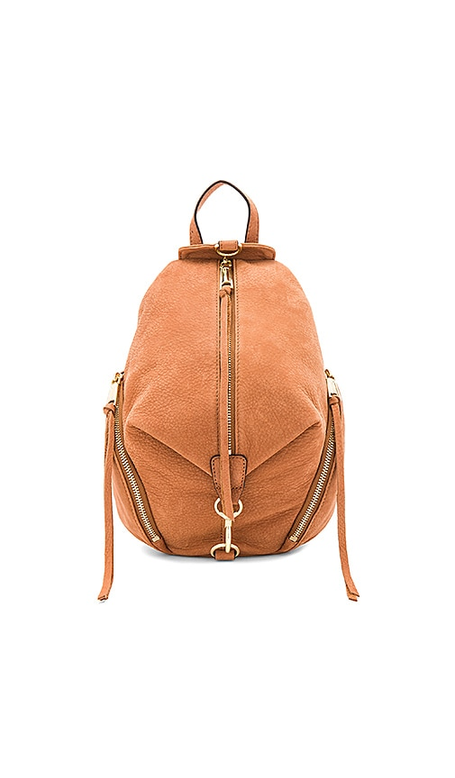 Rebecca Minkoff Medium Julian Backpack in Cognac