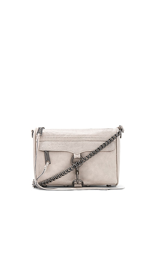 Rebecca Minkoff Mini Mac Bag in Gray