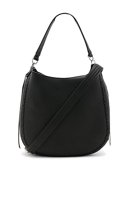 Rebecca Minkoff Unlined Convertible Hobo in Black