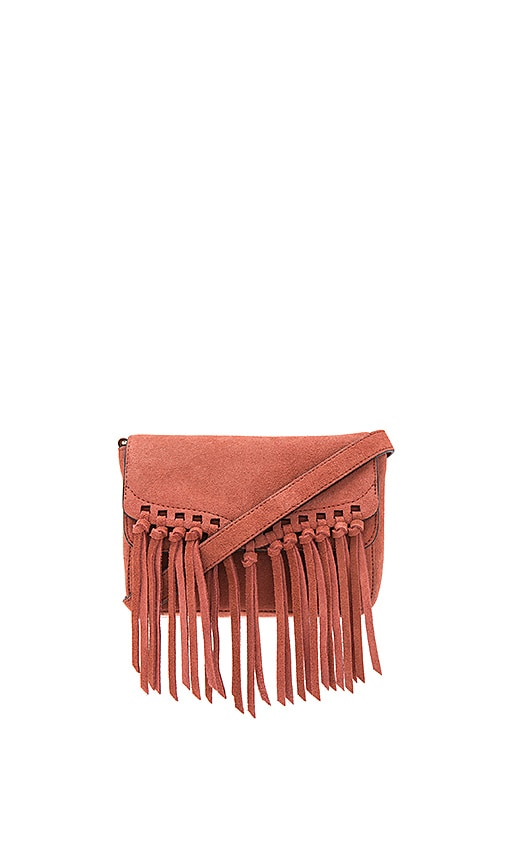 Rebecca Minkoff Rapture Small Shoulder Bag in Brick