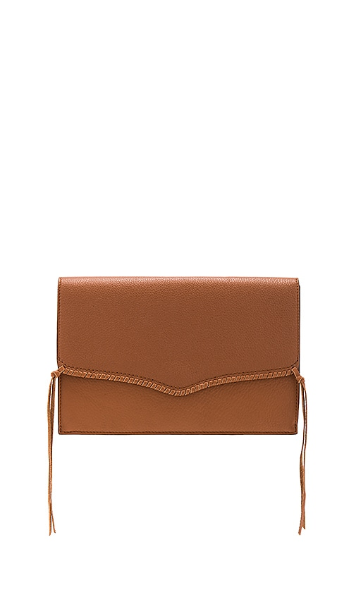 Rebecca Minkoff Panama Clutch in Brown