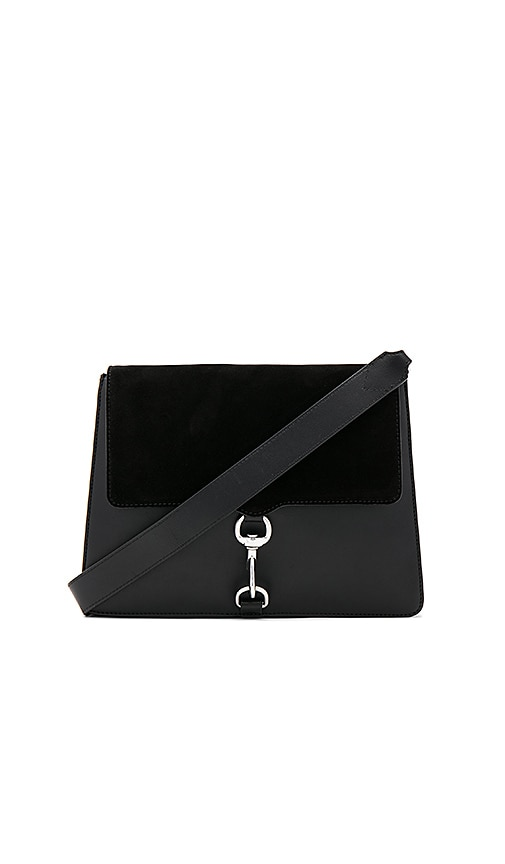 Rebecca Minkoff Large Mab Shoulder Bag in Black