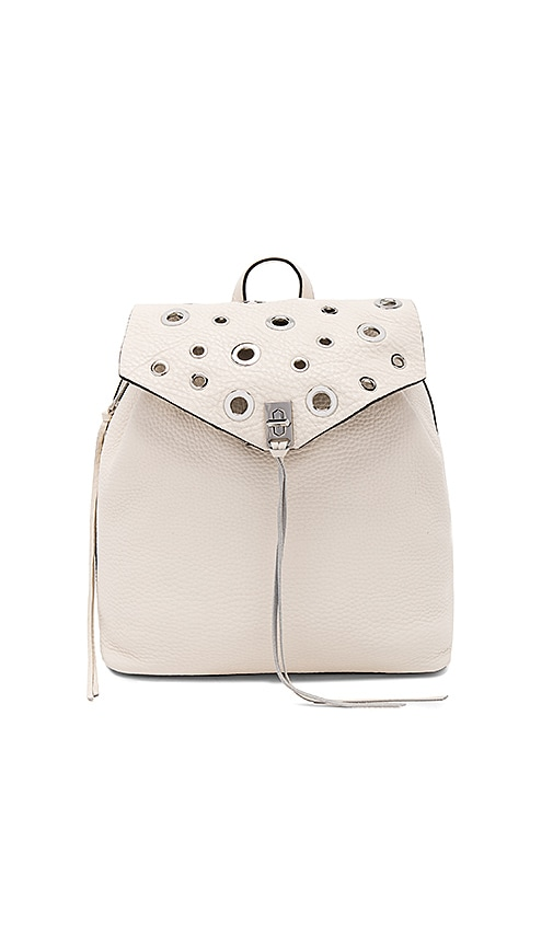 Rebecca Minkoff Darren Backpack in Cream
