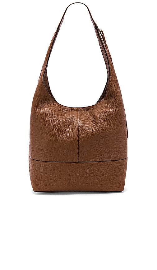 Rebecca Minkoff Unlined Slouchy Hobo With Whipstitch in Cognac