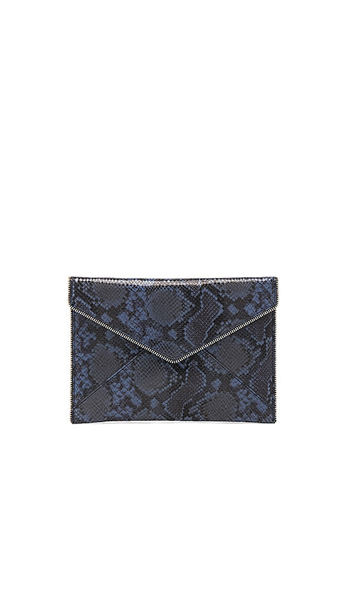 Rebecca Minkoff Sunday Leo Clutch in Navy
