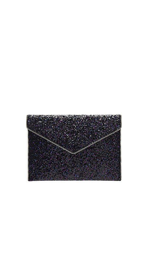 8d223f961 Rebecca Minkoff Glitter Leo Clutch in Purple Multi | REVOLVE