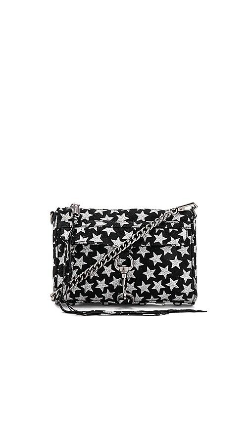 6a6a8294 Rebecca Minkoff Glitter Star Mini Mac in Black Star | REVOLVE